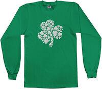 Threadrock Kids Shamrock of Shamrocks Youth Long Sleeve T-shirt Irish Pride