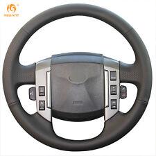 Leather Steering Wheel Cover for Land Rover Range Rover Sport 2005-2007 #LR11
