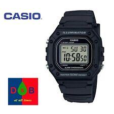 Casio Illuminator W-218H-1AV Men's Watches Brand-New Digital Resin Strap - DEAL