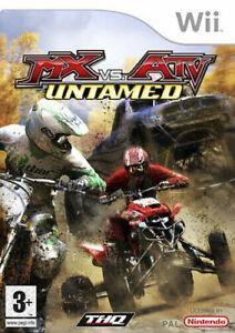 MX Vs. ATV Untamed Nintendo Wii Racing Game