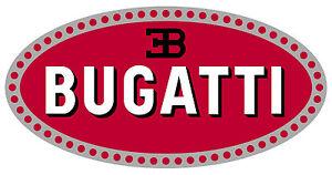 "BUGATTI vinyl cut sticker decal 6"" (full color)"
