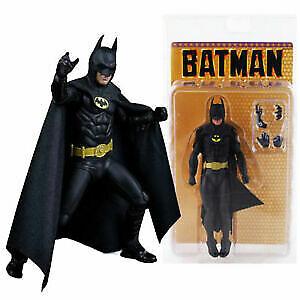 "New NECA 6"" Batman Michael Keaton 1989 25TH Anniversary Classical Action Figure"