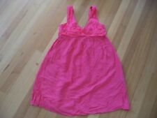 WITCHERY CORAL SUMMER DRESS SILK DRESS SIZE 12 AS NEW