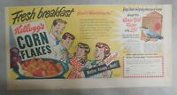 Kellogg's Cereal Ad: Winter Bird Feeder Offer ! From 1949 Size: 7.5 x 15 inches