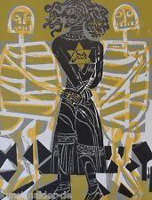 Hap Grieshaber Memento Mori 66-33: l'ebreo