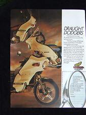 HONDA MOTORCYCLE STYLE FAIRINGS 1970 S ADVERT READY TO FRAME