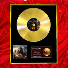 DISTURBED IMMORTALISED CD  GOLD DISC VINYL LP FREE SHIPPING TO U.K.