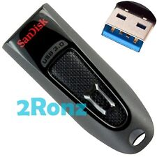 SanDisk Ultra CZ48 128GB 128G USB 3.0 Flash Drive Stick Disk Cruzer SDCZ48 Black