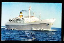 1966 SS Statendam Postcard - Holland America Line