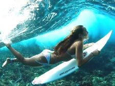 "3.25"" DIVING DIVA classic surfing sticker / decal Sexy bikini Surfer Girl laptop"