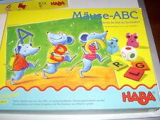Haba Nr. 4562 - Mäuse - A B C , Entdecke die Welt der Buchstaben !