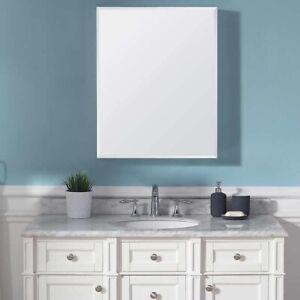 """OVE Decors Carlow Single Door Mirrored Medicine Cabinet 30"""" x 24"""""""