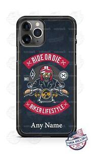 Biker Lifestyle Motorcycle Lover Custom Phone Case For iPhone Google Samsung LG