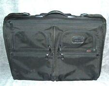 Tumi Alpha Wheeled Garment Bag 22'' Black Ballistic Nylon 22033DH