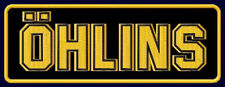 "ÖHLINS EMBROIDERED PATCH ~5-1/4"" x 2"" GAS SHOCKS RACING PERFORMANCE MOTORSPORT"