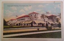 Florida FL Postcard Palm Beach Beaux Arts Build Original RARE VHTF Early 1900s