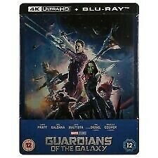 Guardians of the Galaxy 4K Steelbook - UK Exclusive  Blu-Ray, RB NEW & SEALED