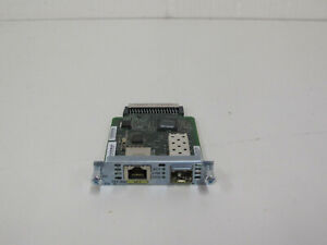 CISCO EHWIC-1GE-SFP-CU. 90 DAY WARRANTY. FREE UK SHIPPING