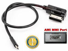 CABLE DE INTERFAZ MICRO USB AMI PARA AUDI VW SEAT SKODA  MUSICA ADAPTADOR 3.5