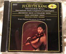 Juliette Kang...1994 Gold Medal Winner/ CD