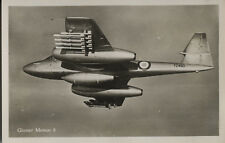 Postcard 1531 - Aircraft/Aviation Real Photo Gloster Meteor Mk. 8