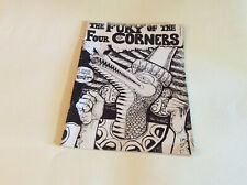The Fury of the Four Corners comic book by John Strongbow