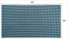 1Yard Black & Silver Grill Cloth For Fender Two Speaker Twin Amplifier Cabinet