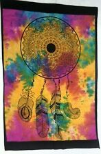 New Dream Catcher Throw Beautiful Floral Printed Wall Hanging Tapestry Poster