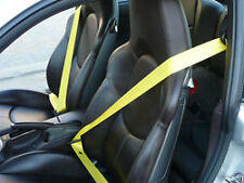 Porsche Seat Belts YELLOW FRONT & REAR 997 987 911 GT3 GT2 Boxster Cayman Turbo