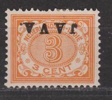 Nederlands Indie Netherlands Indies 67f MLH BUITEN BEZIT kopstaand 1908