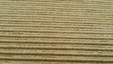 "Gold polyester/acetate/cotton stripe drapery/upholstery 57"" width fabric NEW!"