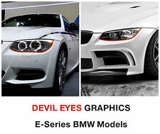 Diable yeux phares rayures bmw e series 1 3 5 6 Z3 Z4 X1 X3 X5 X6 M3 M5 M6 1M