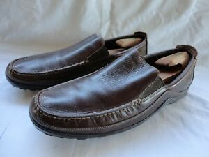 Cole Haan Tucker Venetian Brown Leather Driving Loafer Casual C03557 Men's 15 M