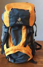 Deuter Futura 42L AC Backpack, Yellow/Gray, AirComfort Back Support