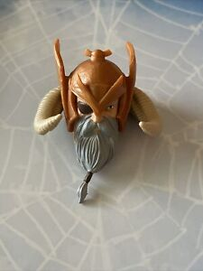 Marvel Legends Allfather Odin BAF HEAD with Horn ,  Hair Eye Patch Part