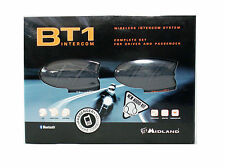 MIDLAND BT1 KIT AUDIO WIRELESS INTERFONO X UTILIZZO CASCO INTEGRALE MOTO SPORT