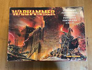 Warhammer Fantasy - Geländebau / Scenery - MIGHTY FORTRESS / Festung - OOP - NEU