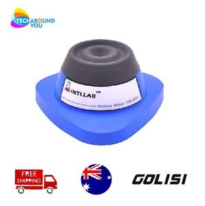 Intllab Mini Vortex Mixer Shaker for Lab/Nail Polish/Tattoo Ink/Gel Polish/ Eye
