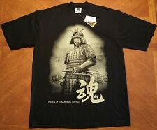 Pro USA Mens Premium Heavy Weight Samurai Graphic T-Shirt Size 2XL
