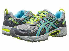 ASICS Gel-Venture 5 Women's Shoes Silver Gray/Turquoise/Lime US-10 EUR-42