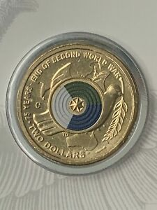 2020 $2 End Of WWII 'C' MINT MARK Choice UNC Scarce!