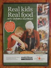 Real Kids Real Foods:With Stephanie Alexander (DVD, Region 4, New & Sealed) gf10