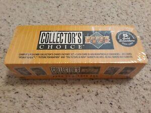 1994 Upper Deck COMPLETE FACTORY SEALED Set/670/JORDAN ROOKIE CARDS!$ +5 Gold! $