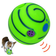 Soft Rubber Dog Chew Toy Squeaker Sound Pet Round Ball Yoy High Bounce Bite Play