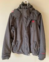 Abercrombie And Fitch Medium Mens Winter Coat Gray