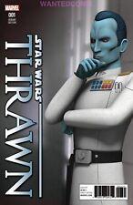 STAR WARS THRAWN #1 ANIMATION VARIANT 1:10 COMIC BOOK 2018 FINE