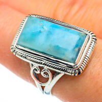Larimar 925 Sterling Silver Ring Size 8 Ana Co Jewelry R43946F