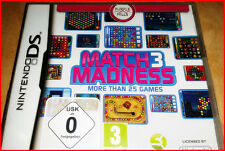 Match 3 Madness (Nintendo DS, 2011)