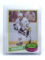 1980-1981 Brad McCrimmon #354 Boston Bruins OPC O-Pee-Chee Ice Hockey Card H603
