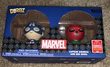 Funko Dorbz Marvel Captain America & Red Skull 2 Pack 2018 Summer Con LE New